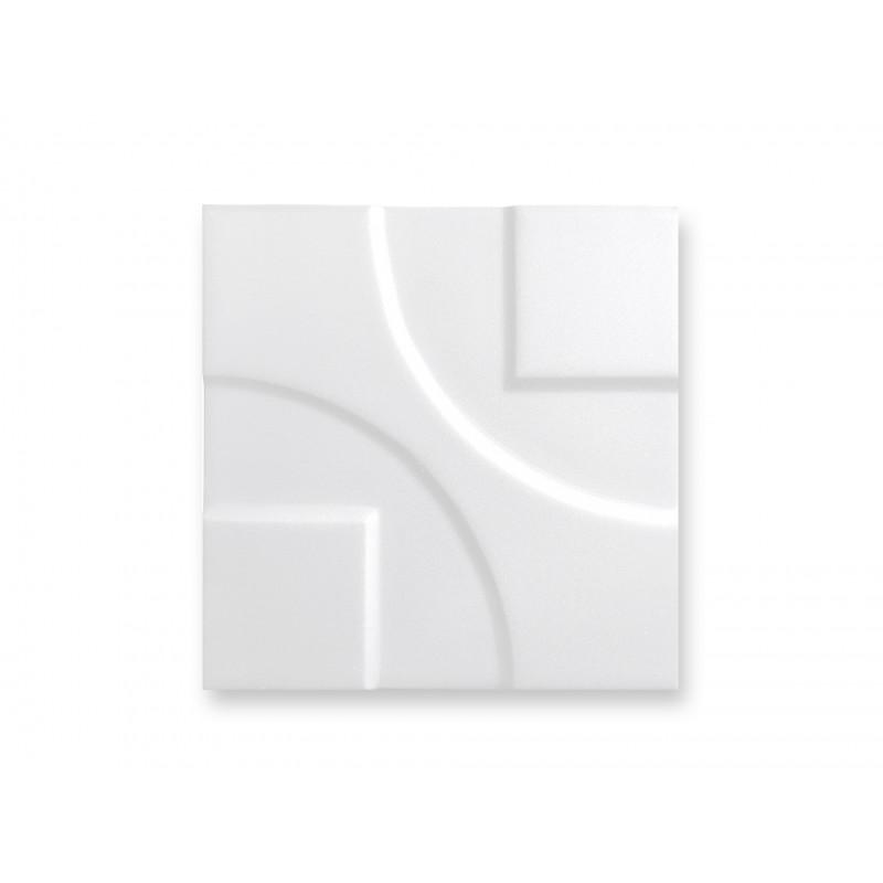 15x15 3d white mat