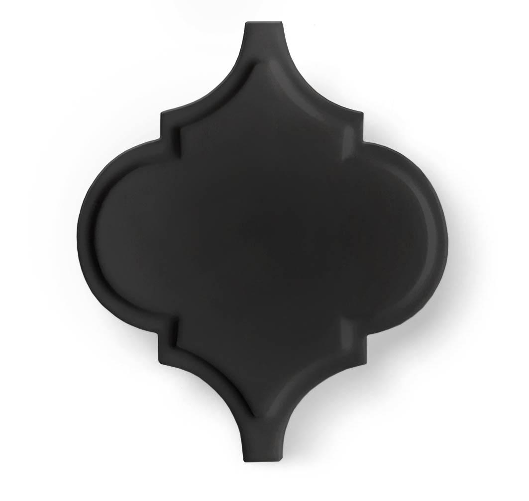arabesq black mat palace