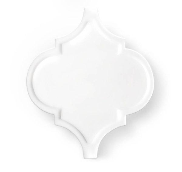 Arabeska White Glossy Palace