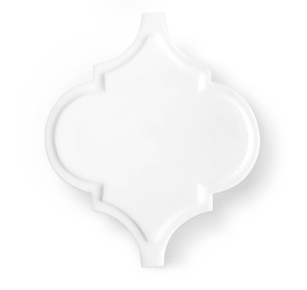 arabesq white mat palace