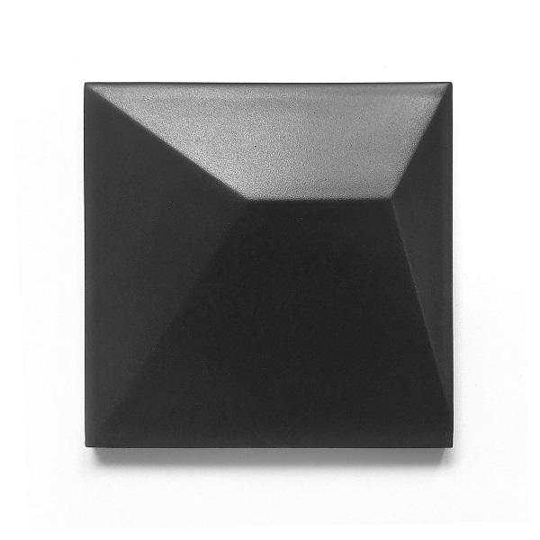 cristal 3d black mat