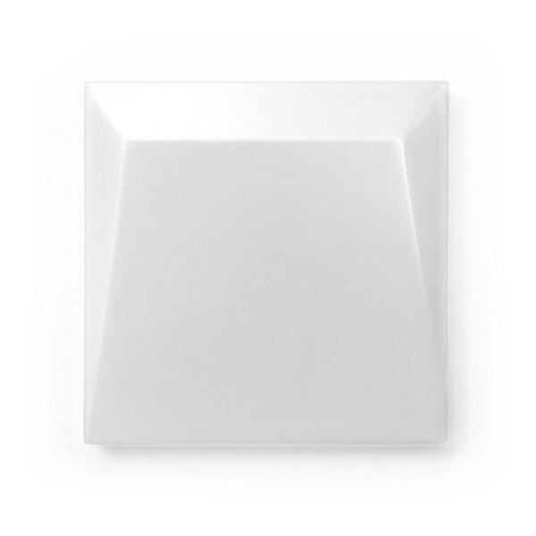 cube 3d white mat