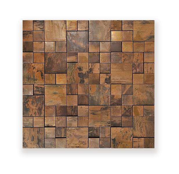 Square Cooper Mosaic