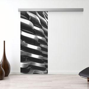 Drzwi Przesuwne Szklane - Wzór GS-06-16 - Muszelka