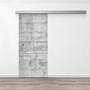 Drzwi Przesuwne Szklane - Wzór GS-234 - Muszelka