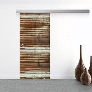 Drzwi Przesuwne Szklane - Wzór GS-240 - Muszelka