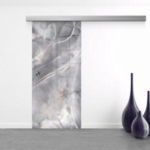 Drzwi Przesuwne Szklane - Wzór GS-303 - Muszelka