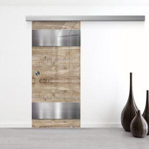 Drzwi Przesuwne Szklane - Wzór GS-304-1 - Muszelka