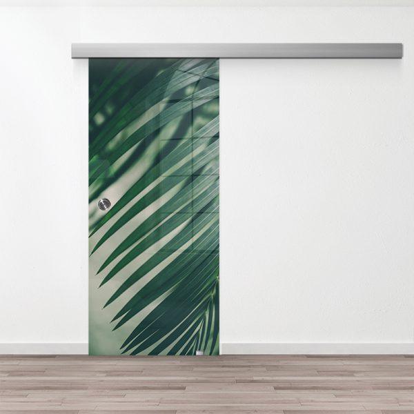 Drzwi Przesuwne Szklane - Wzór GS-70 - Muszelka