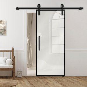 Drzwi Loftowe - Podgląd - Wzór loft-K-00 - Białe - Antaba