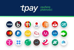 Tpay - obsługiwane płatności