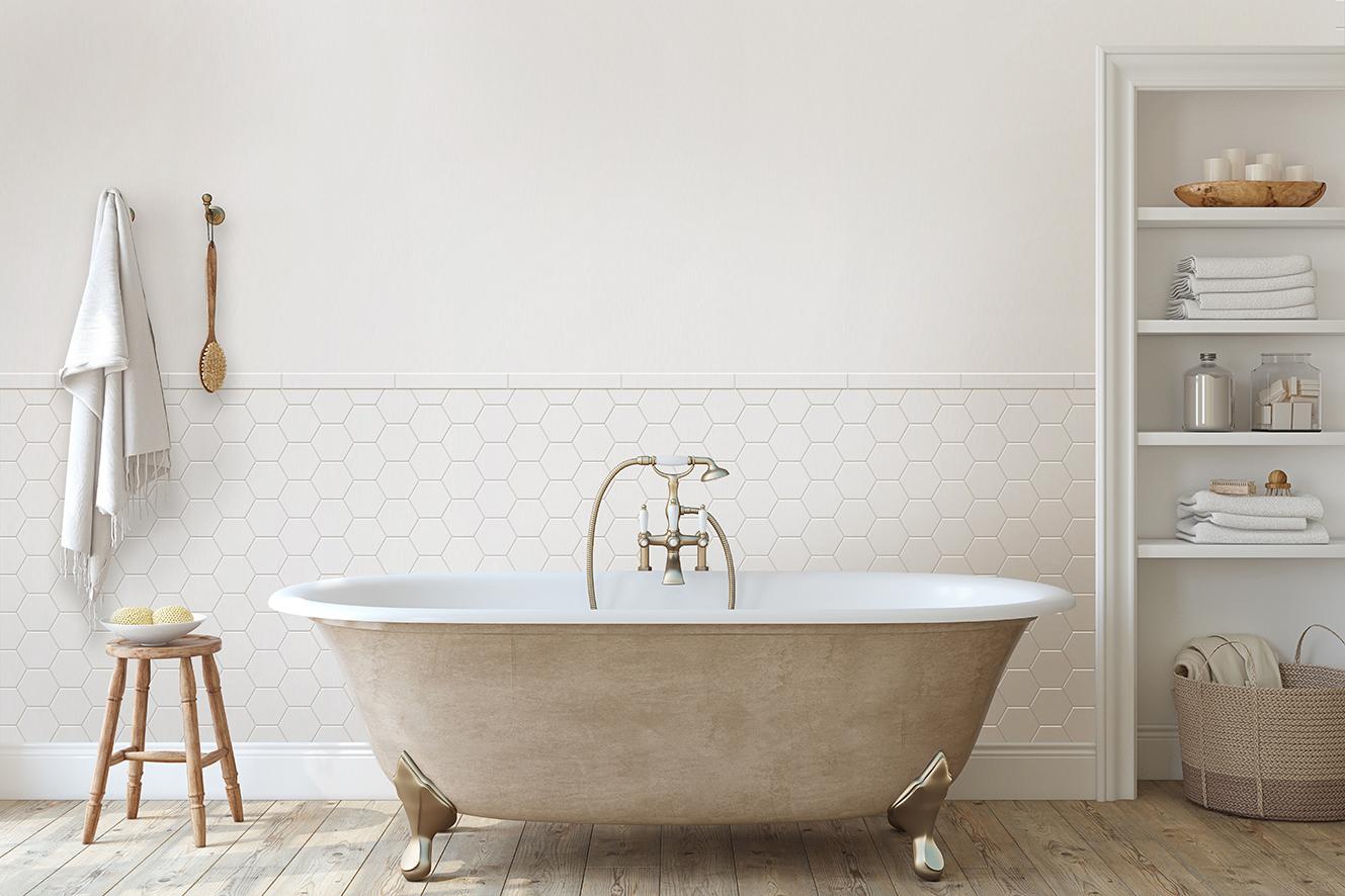 profile ceramiczne białe łazienka