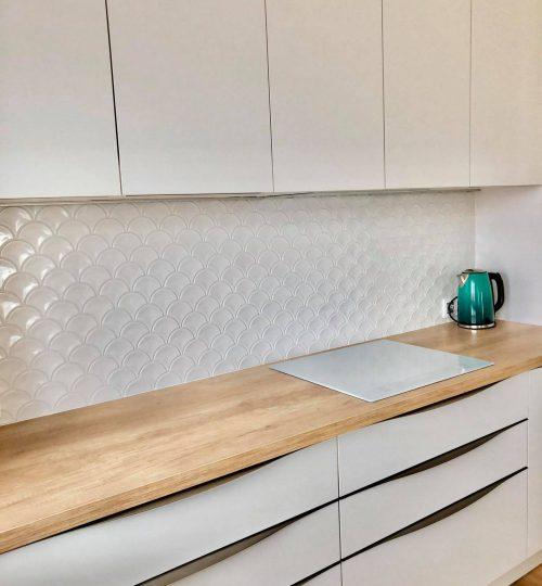Mosaic U White Glossy - realizacja 11
