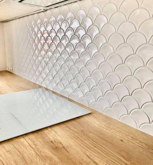Mosaic U White Glossy - realizacja 3