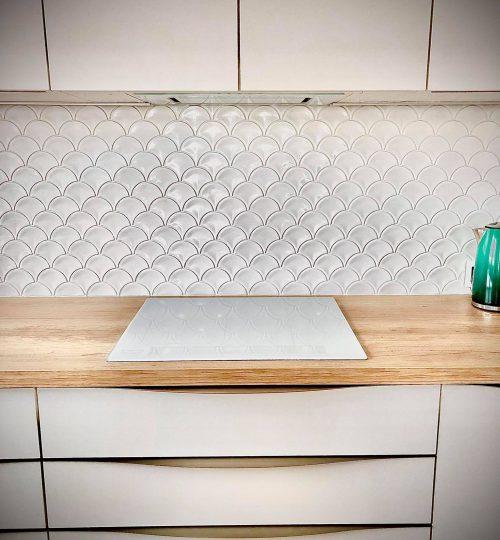 Mosaic U White Glossy - realizacja 4