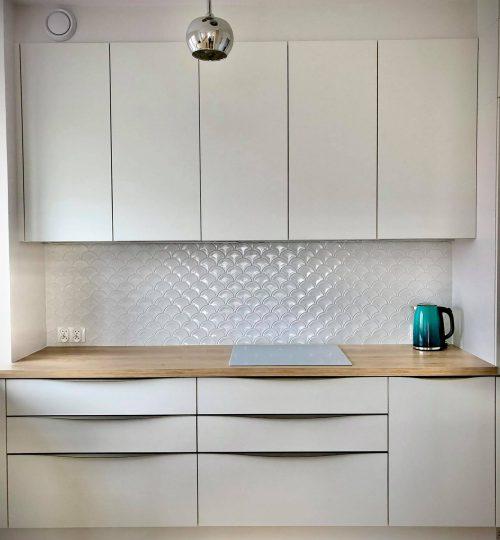 Mosaic U White Glossy - realizacja 5