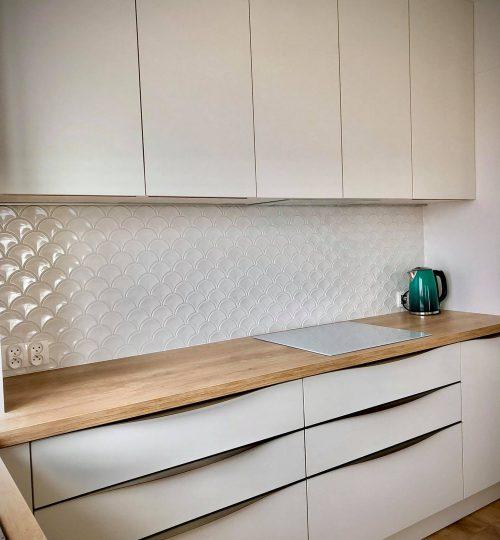 Mosaic U White Glossy - realizacja 9