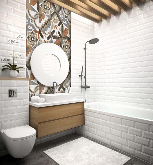 aranżacja łazienki wzór 2